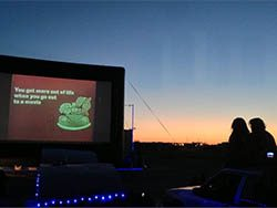 Blue Starlite Drive In Theater Austin Texas