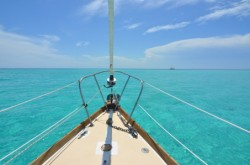 Sailing on Biscayne Bay
