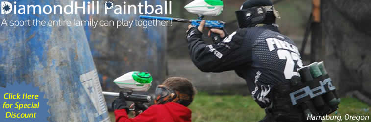 Diamond Hill Oregon Paintball Attraction things to do for the family