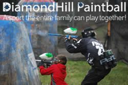DiamondHill Paintball Harrisburg, Oregon