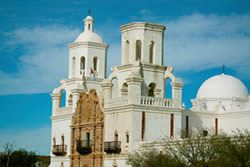 San Xavier Mission Tucson Arizona