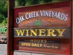 Oak Creek Vineyard & Winery Arizona