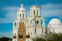 San Xavier Mission Tucson Arizona